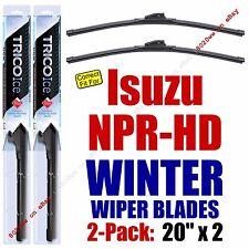 WINTER Wiper Blades 2-Pack Premium fits 1999+ Isuzu NPR-HD - 35200x2