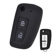 Silicone Car Key Cover Case Fob For Nissan X-Trail Juke Qashqai Micra Pulsar