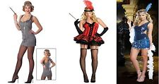 10920's FLAPPER GIRL CHARLESTON GATSBY LADIES FANCY DRESS COSTUME