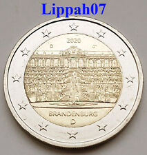 Duitsland speciale 2 euro 2020 Brandenburg UNC 1 letter