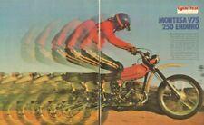 1975 Montesa V75 250 Enduro Road Test 11-Page Vintage Motorcycle Article