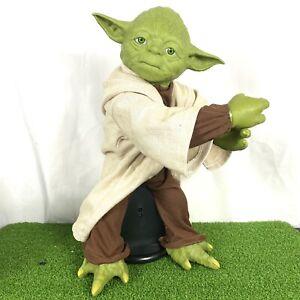 "Legendary Yoda Interactive Talking Spin Master 2014 16"" Figure Collector Edition"