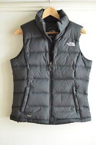 Womens North Face Nuptse vest, black, size small, great condition!