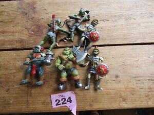 6x Plastic knights / ogres (224)