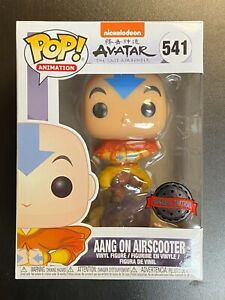 FUNKO POP AVATAR AIRBENDER AANG ON AIRSCOOTER 541 SPECIAL EDITION EXCLUSIVE