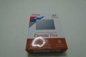 Toshiba Canvio Flex 1TB Portable External Hard Drive USB-C USB 3.0 HDTX110XSCAA
