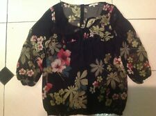 River Island Ladies Chiffon Blouse Size 12