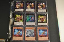Yugioh Zoodiac Kaiju Lot Binder Deck Collection 46 Cards 17 Holos & Rares