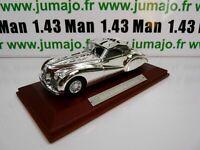 SIL9G VOITURE 1/43 IXO CHROME : Alfa Romeo 6C 2500 SS