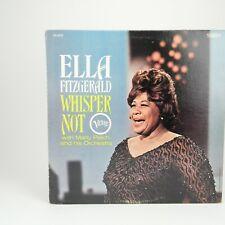 Ella Fitzgerald - Whisper Not  1966 LP V6-4071 Jazz - VG