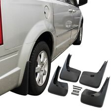 Fits Town & Country Mud Flaps 11-17 Splash Guard No Running Board 4Pc Front Rear
