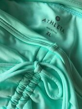 ATHLETA Aqualuxe Bathing Suit Coverup Skirt, Light Turquoise Size-XL