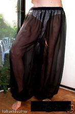 Harem Pants Belly Dance Chiffon Black Short