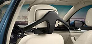 Neu original VW Audi Skoda Kleiderbügel für die Kopfstütze inkl. Basisträger