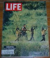 Life Magazine February 7, 1964 Tanganyika British Commando on Cover/Dogs/GOP