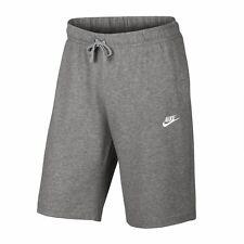 Nike Herren Baumwoll Short NSW Club Trainingsshort grau