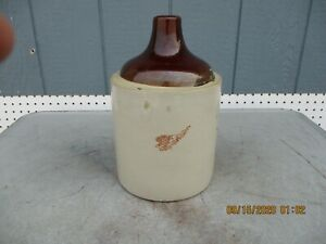 Red Wing 1 Gallon Whiskey Jug Crock Clearly Marked-Very Rare
