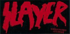 Slayer Undisputed Attitude Rare promo sticker '02