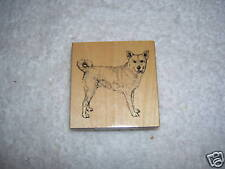 Stamp Gallery Mounted Rubber Stamp Canaan Dog, New