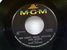 "MARK DINNING ""TOP FORTY NEW WHEATHER AND SPORTS / SUDDENLY"" 45 NEAR MINT"
