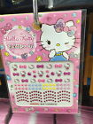Sanrio Hello Kitty Nail seal cute Pink kawaii DAISO JAPAN