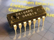 25x 74164PC 8-Bit Serial In/parallel Out Shift Register, Tungsram