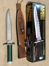 Rambo First Blood Signature Edition Knife - 3588/10000