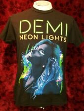 MEDIUM Demi Lovato The Neon Lights Tour 2014 T-shirt