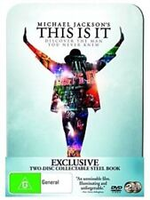 MICHAEL JACKSON This Is It COLLECTABLE STEEL BOOK 2DVD NEW