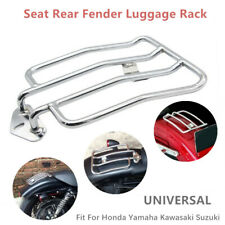 Motorcycle Parts Chrome Solo Seat Rear Fender Luggage Rack Fit For Honda Yamaha