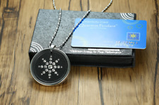 Power Energy Scalar Quantum Bio Science Negative Ions Pendant Necklace