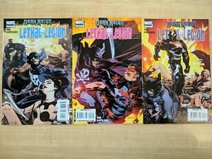 DARK REIGN: LETHAL LEGION #1-3 by Marvel Comics (2009), three book set