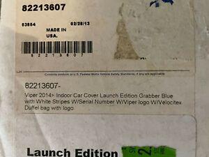 2013 DODGE GTS VIPER CAR COVER LAUNCH EDITION MOPAR 82213607 NEW