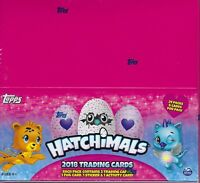 2018 Topps HATCHIMALS Trading Cards 144c Retail Display Box FoilStickerActivity