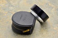 Rare Asahi Pentax Takumar 49mm Series VII  2-Piece Metal Lens Hood Case (#1570)