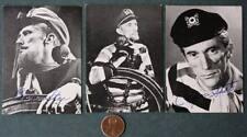 1960s Indianapolis Indiana WFBM-TV Cap'n Star-Sinister Seymour 3 card set-SCARCE
