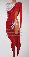 U6309 Competition Women Ballroom Latin Salsa Rumba samba dance dress Custom made