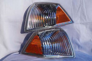 Front Corner Turn Signal Parking Light Lamps One Pair For 2007-2010 Compass