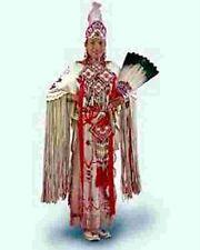 """PLAINS INDIAN BUCKSKIN DRESS"" NATIVE AMERICAN PATTERN"