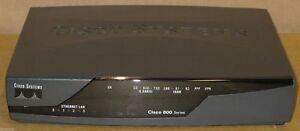Cisco CISCO878-K9 878 Integrated Services Router 800 Series 870 Model + PSU