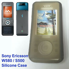 New Silicone Case Soft Jelly Skin Fitted Sony Ericsson W580i S500i mobile phone