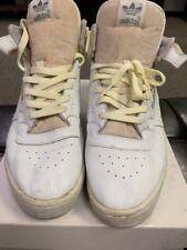 the latest b7f32 34960 adidas VINTAGE 1988 HI TOP calabasas WHITE Mens Size 10.5 OG