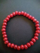 Ladies Elasticated Bangle Small Beads