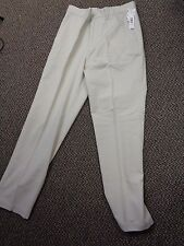 Men's White Dress pants Size 32x32--NWT