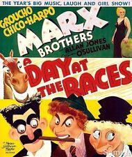 Un jour aux courses marx brothers vintage film movie poster impression photo A4