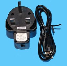 5V, 0.6A  WLC0506EU USB POWER ADAPTER WITH MINI USB CABLE - ***NEW***