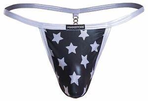 Manstore M2057 Nightclub Catena String mens thong underwear brief shiny chain