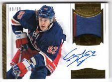 Carte collezionabili hockey su ghiaccio singoli New York Rangers