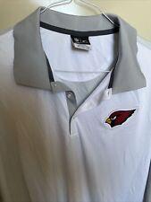 Nike Golf Dri-Fit 3XL Polo Shirt St. Louis Cardinals NFL Onfield Apparel White