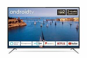 65EP658 65-Inch 4K Ultra HD Smart Android TV with Freeview Play, Prime